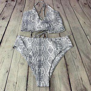 SHEIN Snake Bikini